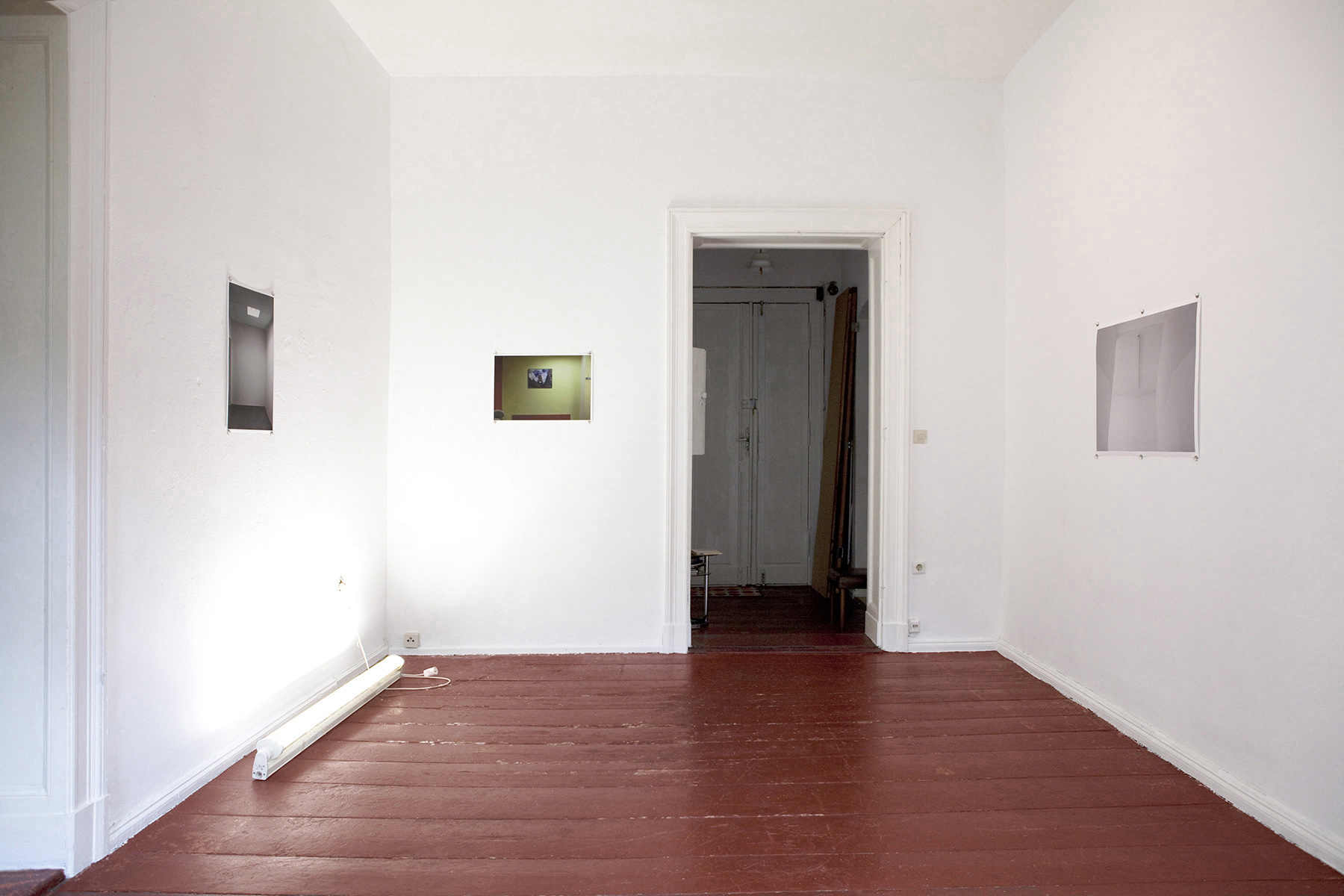 Chris Drange, Christoph David Drange, The Tourist, Salon X, Installation view, exhibition