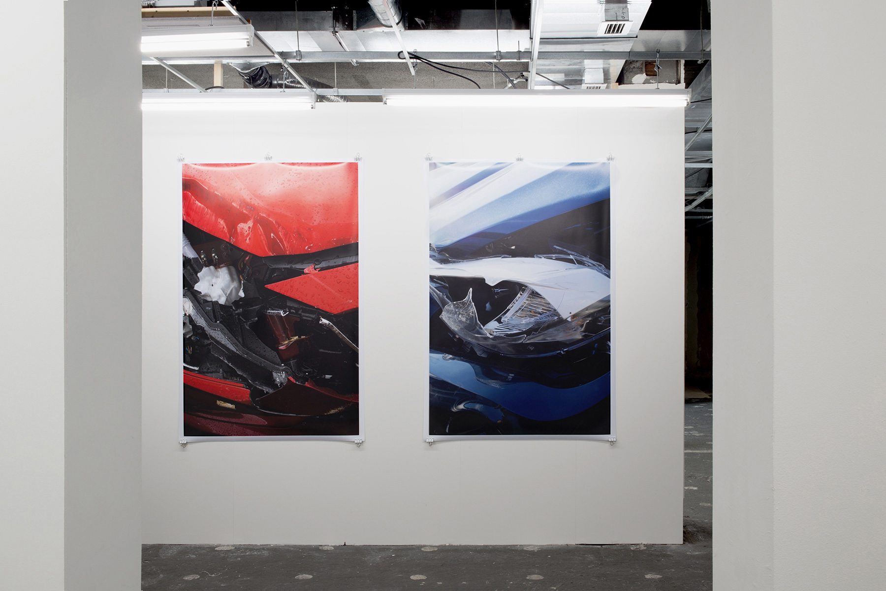 Chris Drange, Christoph David Drange, Shape Shifter, MISANO,  KOBALT Crash Installation view, Photo Bastei, exhibition