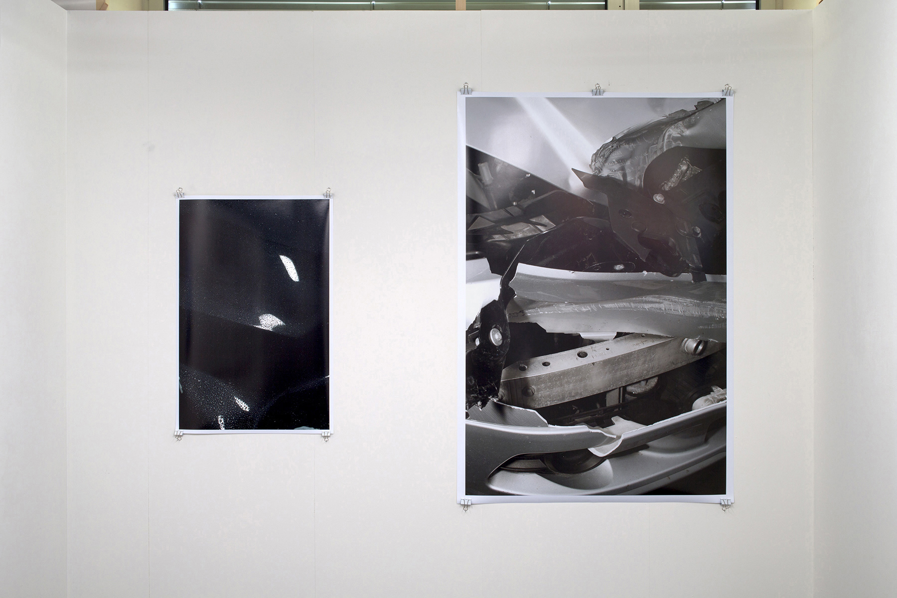 Chris Drange, Christoph David Drange, Shape Shifter, PHANTOM, PALLADIUM, Crash Installation view, Photo Bastei, exhibition