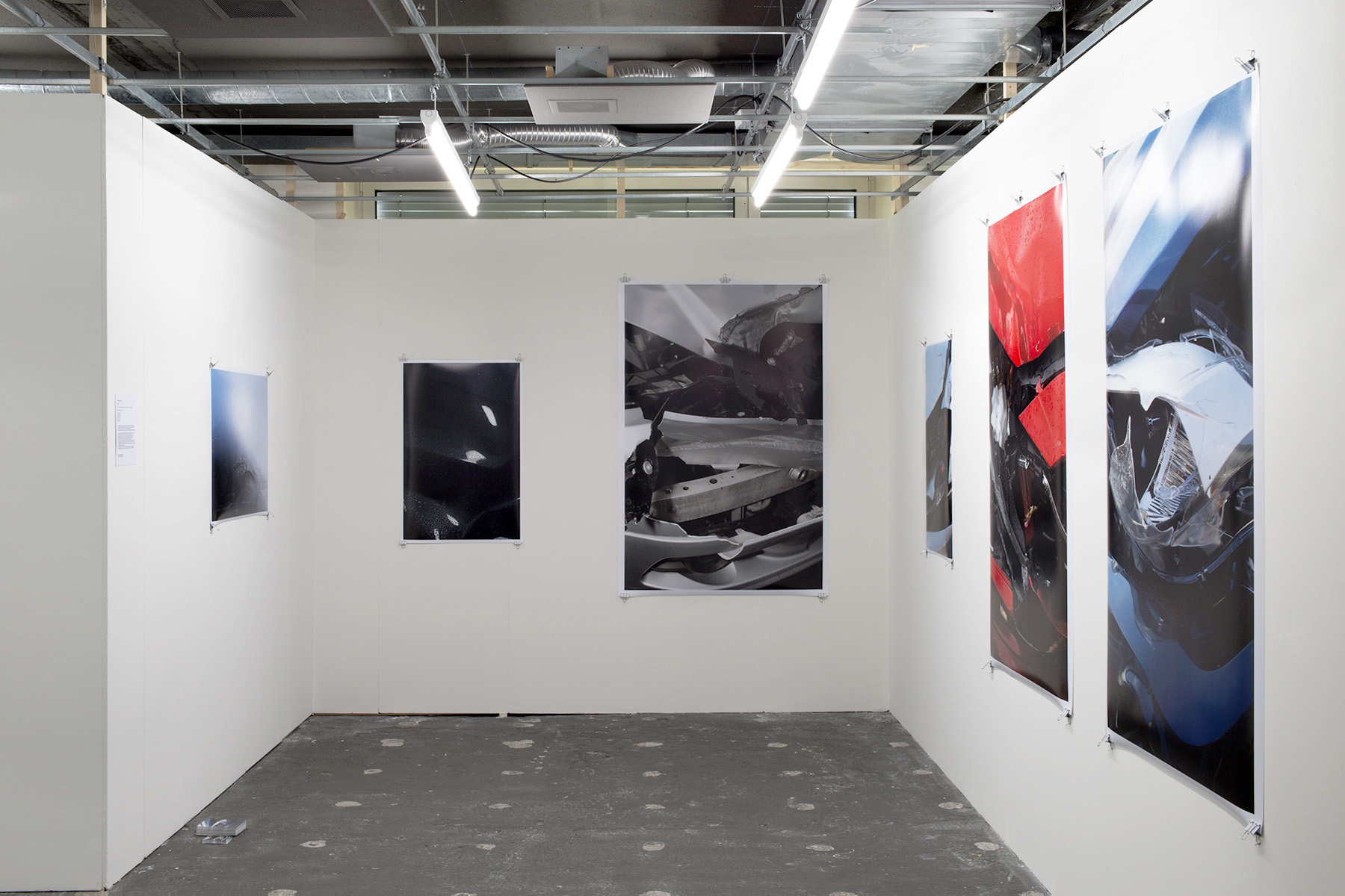 Chris Drange, Christoph David Drange, Shape Shifter, AVIATOR, PHANTOM, PALLADIUM, SLATE II, MISANO,  KOBALT, Crash Installation view, Photo Bastei, exhibition