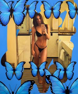 """""""Emrata with Butterflies"""" by Chris Drange"""